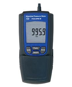 Um den Verlusst der Schutzkappe vom Manometer PCE-APM 30 zu vermeiden kann diese an die Unterseite des Druckmesser gesteckt werden