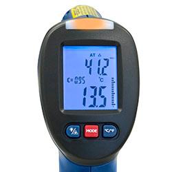 Energiespar Detektor PCE-DPT 1: Gelb, es besteht erhöhte Gefahr der Schimmelbildung