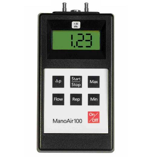Feindruck-Messgerät ManoAir100-1/2