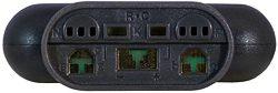 Der Adapter zum Einsatz von Temperatursensoren