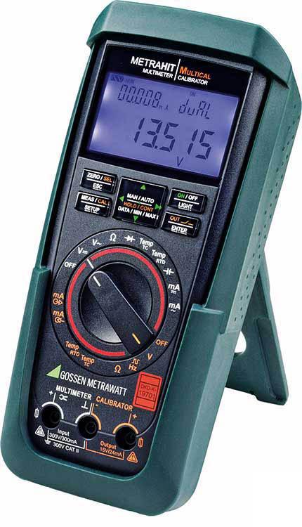Der Kalibrator-Multimeter METRAHIT MULTICAL