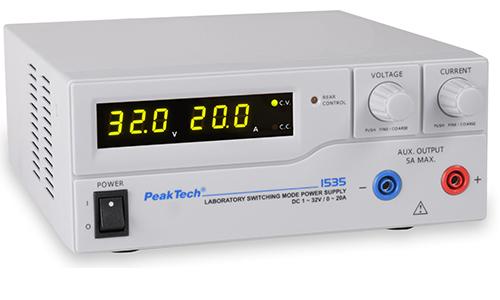 Mehr zum Labornetzgerät PKT-1535