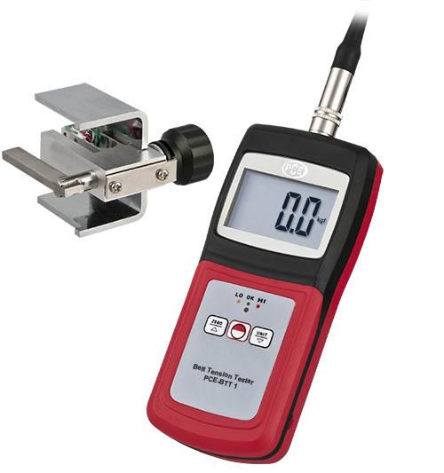 Messgerät PCE-BTT 1 für die Spannung an Zahnriemen