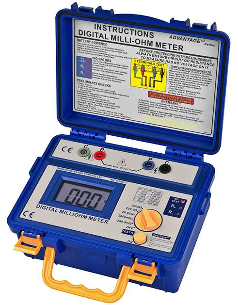 Milliohmmeter PCE-MO 2002