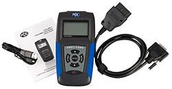 Der Lieferumfang mit dem der KFZ OBD Diagnosescanner ausgeliefert wird.