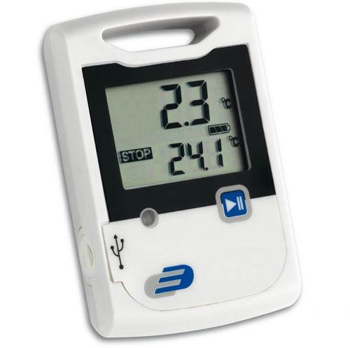 Temperaturdatenlogger Log10 mit Messwertspeicher für 20000 Werte.