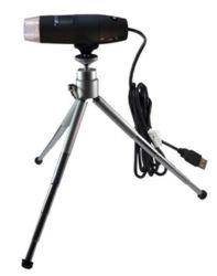 UV-USB-Mikroskop PCE-MM 200UV auf dem Ministativ