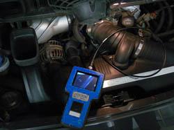 Videoskope im praktischen Einsatz im Motorraum