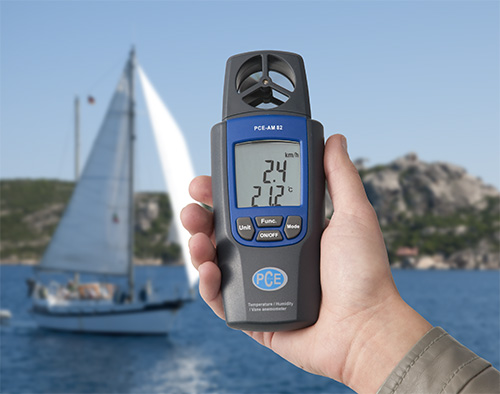 Windgeschwindigkeitsmesser für viele Einsatzbereiche ob Hobby oder Beruf.