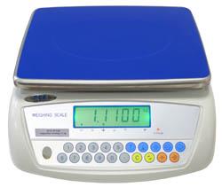 Laborwaage PCE-WS 30 mit RS232 Schnittstelle. Anwendungsfoto