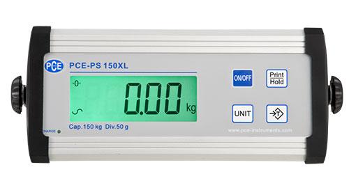 Display der PCE-PS...XL großer Plattformwaage
