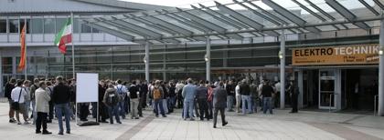 PCE auf   der Elektrotechnik - Messe in Dortmund