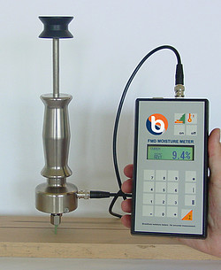 Absolute vochtigheidsmeter FMD6 met optionele elektrode