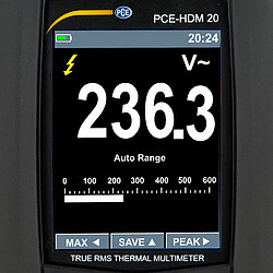 Digitale multimeter PCE-HDM 20