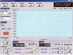 Manometer serie PCE-P software1