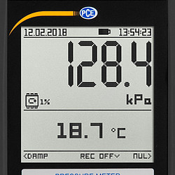 display van de PCE-PDA 100L