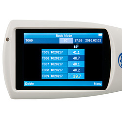Glansmeter PCE-IGM 60 display