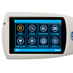 Glansmeter PCE-IGM 60 menu