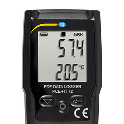 PCE-HT 72 display