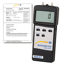 Manometer PCE-917-ICA
