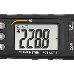 display van de multimeter