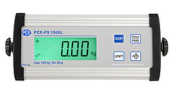 Display van PCE-PS 150XL