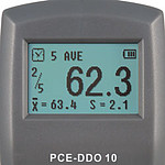 Hardheidsmeter PCE-DDO 10 display