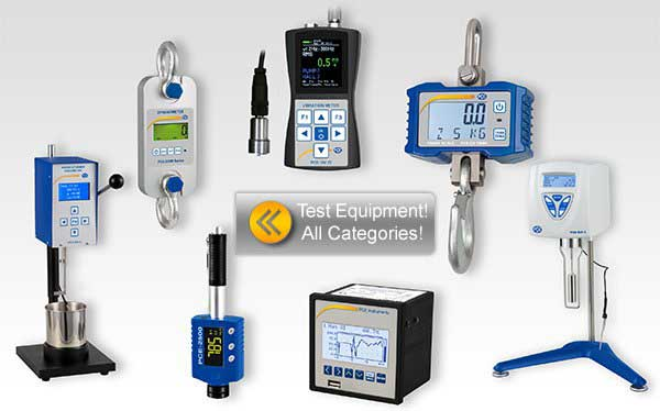 Test Equipment category overview