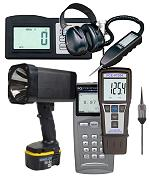 Vibration Meters for the preventative maintenance of production machinery.