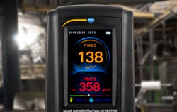 Air quality meter application industry.
