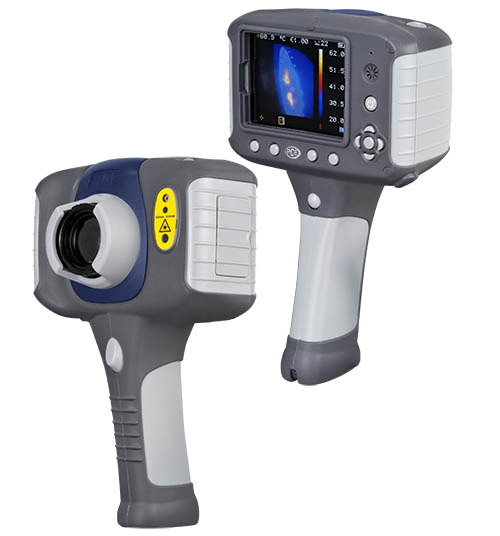 Thermal Imager PCE-TC 3D for inspection in construction is an essential measuring instrument for any power adviser.