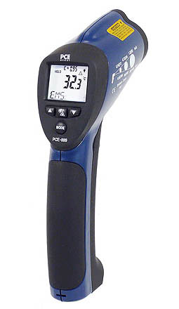 The PCE-889 infrared thermometer