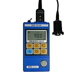 the PCE-TG100 material thickness meter for materials such as metals, glass and homogeneous plastics.