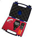 the PCE-CT 28 (F/N) thickness meter come with a carrying case.