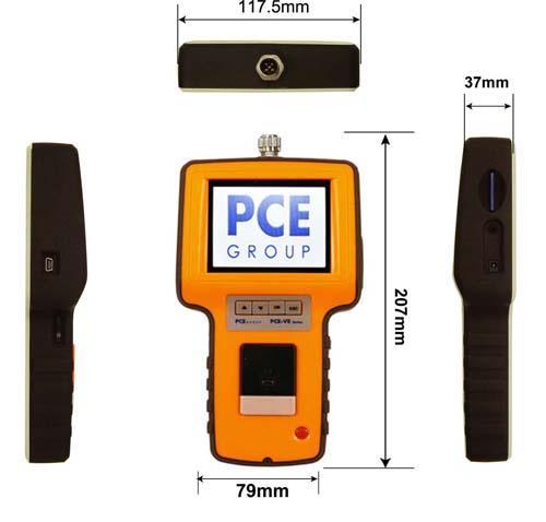 borescope pce ve 350 dimensions