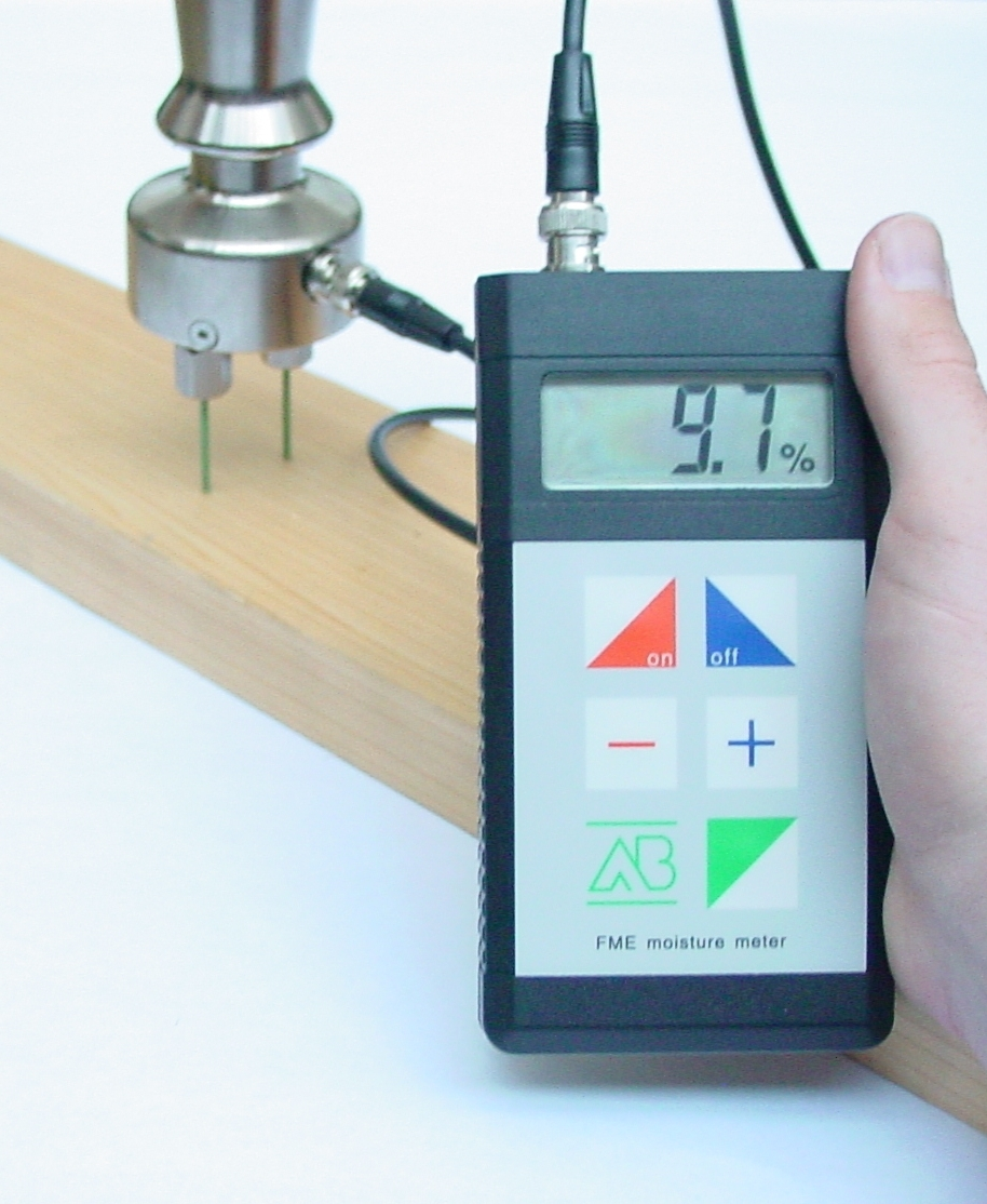 Timber moisture meter fme pce instruments for Wood floor moisture meter