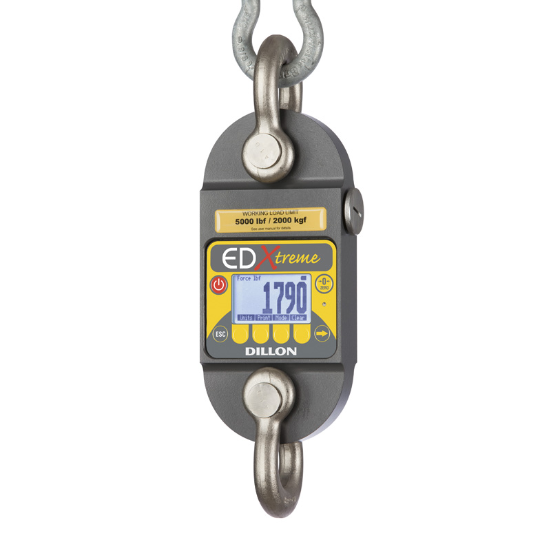 Dynamometer Horsepower Measurement : Dynamometer edx tr with two shackles radio ready and