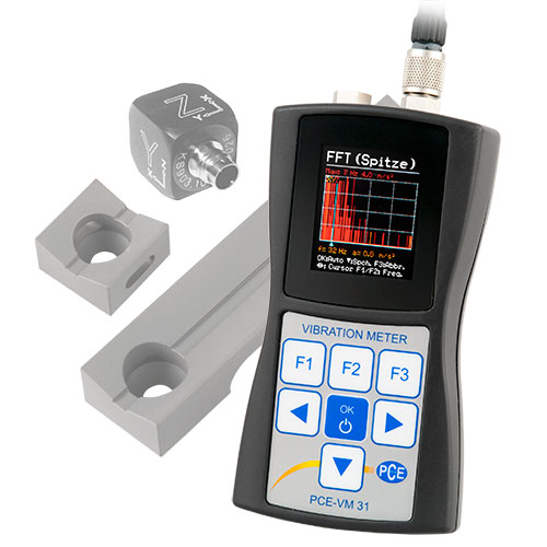 Vibration Measuring Instruments : Condition monitoring human vibration meter with hand arm