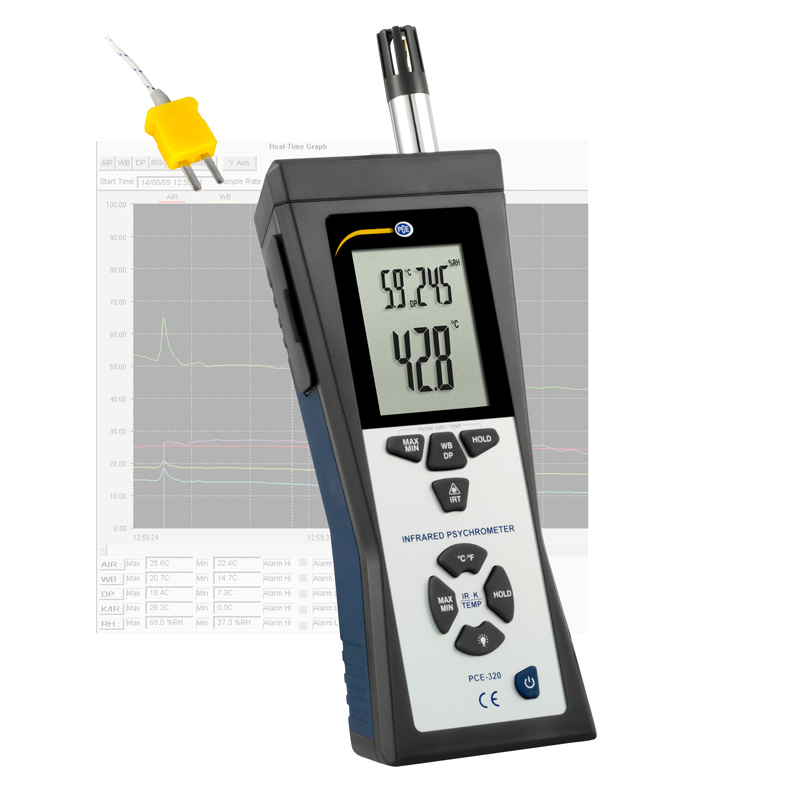 Dew Point Thermometer Pce 320 Pce Instruments