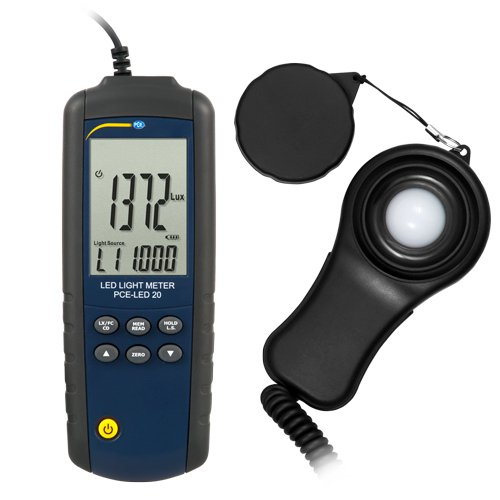 Light Measuring Instruments : Led light meter pce instruments