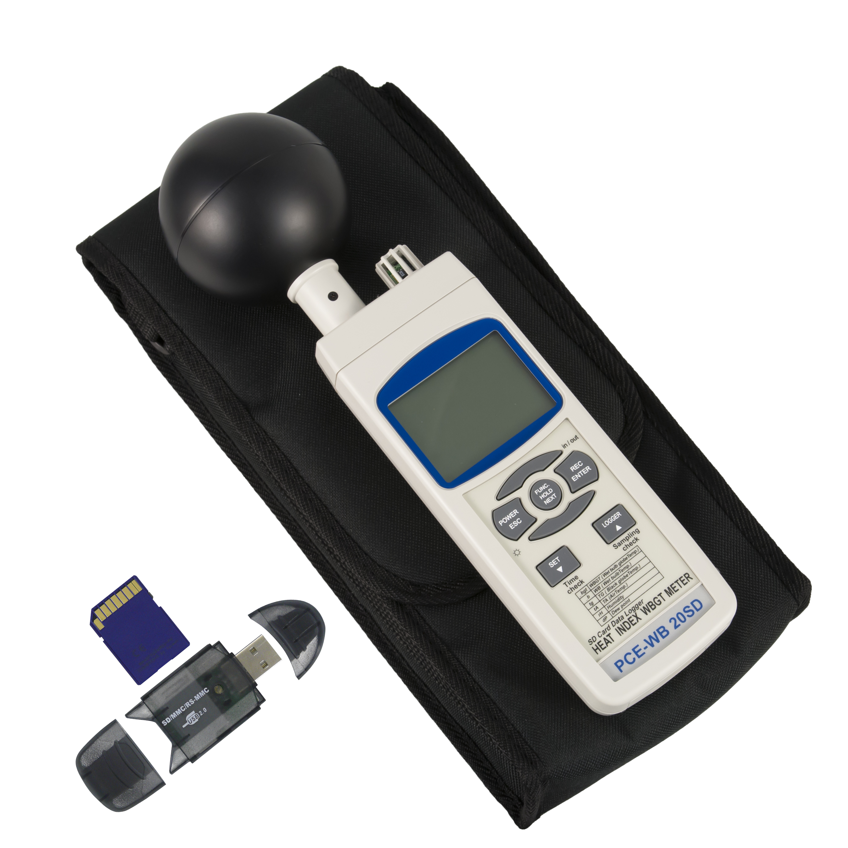 Relative Humidity Meter : Multifunction relative humidity meter pce wb sd