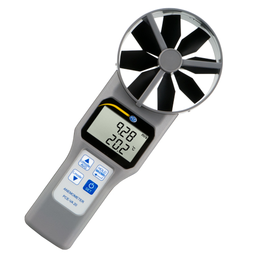 Wind Speed Meter : Multifunction wind speed meter pce va instruments