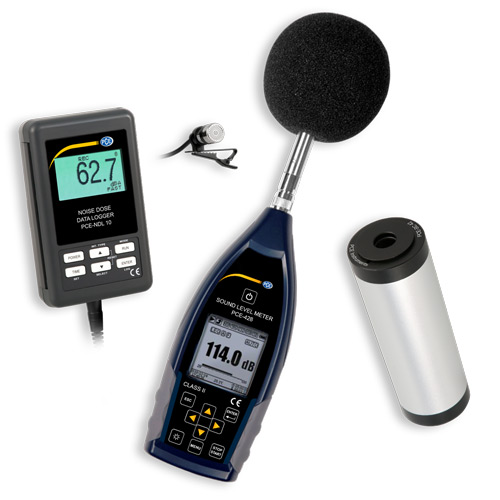 Sound Level Meter Kit With Calibrator PCE-NDL-LEQ-KIT