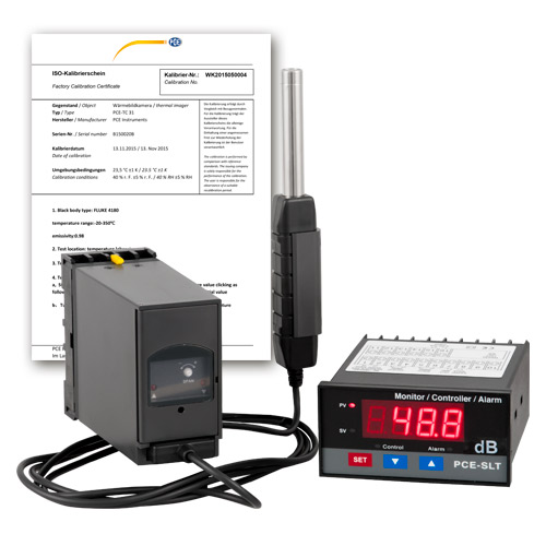 Sound Level Meter SLT-ICA incl  ISO Calibration Certificate