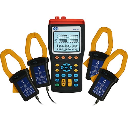 3 Phase Power Meter : Three phase power meter pce instruments