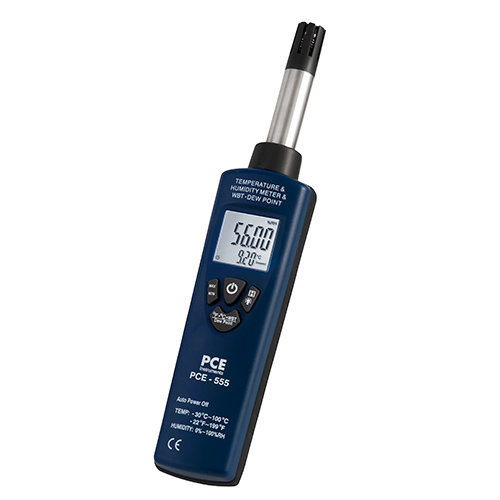 Wet Bulb Temperature Meter Pce 555 Pce Instruments