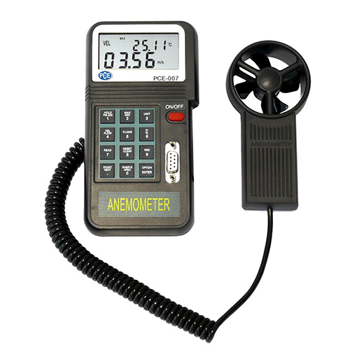 Wind Speed Meter : Wind speed meter pce instruments