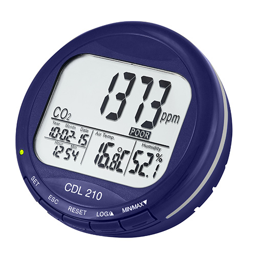 Air Quality Carbon Dioxide Meter Cdl 210 Pce Instruments