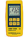 Digital Thermometer GMH 3250 with 2 sensor connections and data logger