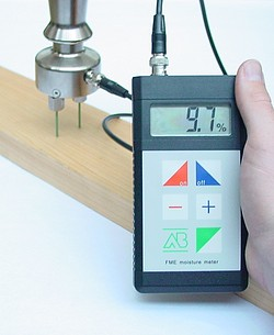 Paper Moisture Meter FME Application